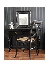 Black Dressing Table