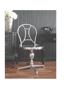 Chrome Dressing Table Chair